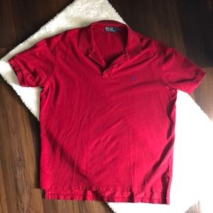 Polo By Ralph Lauren Red Polo Shirt XL